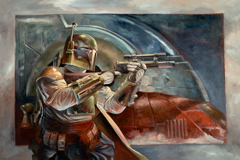 Boba Fett With Slave1