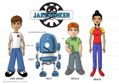 Jake Maker Character Designs