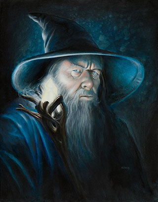 Gandalf Illuminated