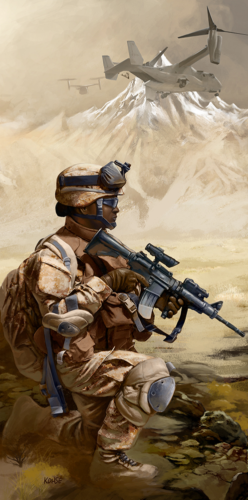 Marine On Point: Afghanistan by Lee Kohse