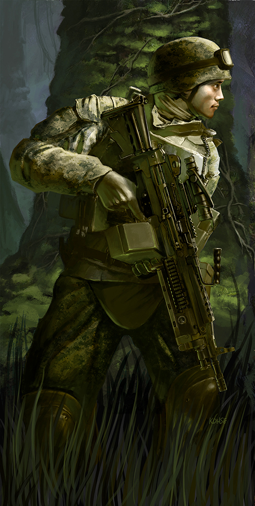 Marine On Point Jungle