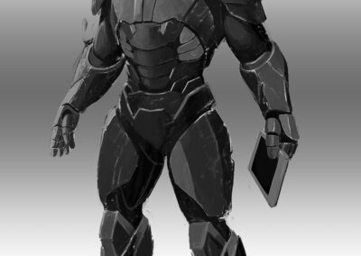 Omicron Fel Armor Design by Lee Kohse